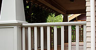 Complete re-build of classic craftsmen style Portland porch. New from ground up!