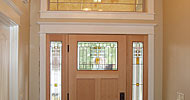 Classic craftsmen style interior finish carpentry.